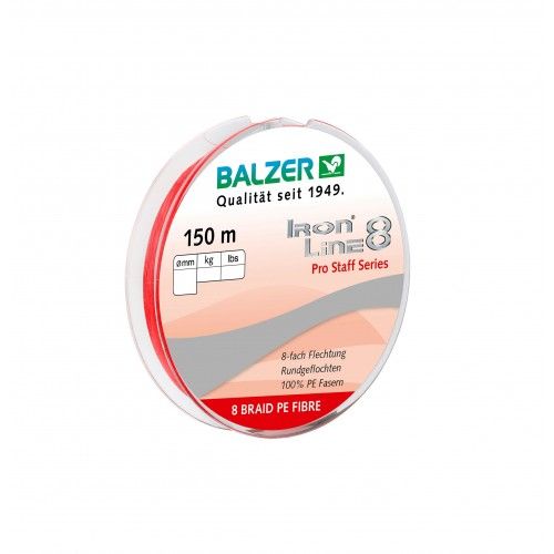 TRESSE BALZER IRON LINE 8 ROUGE 150M