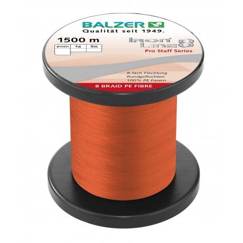 TRESSE BALZER IRON LINE 8 ROUGE 1500M