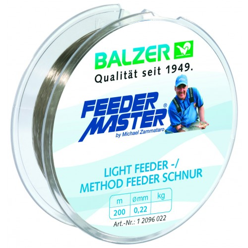 NYLON BALZER LIGHT FEEDER/METHOD FEEDER 200M