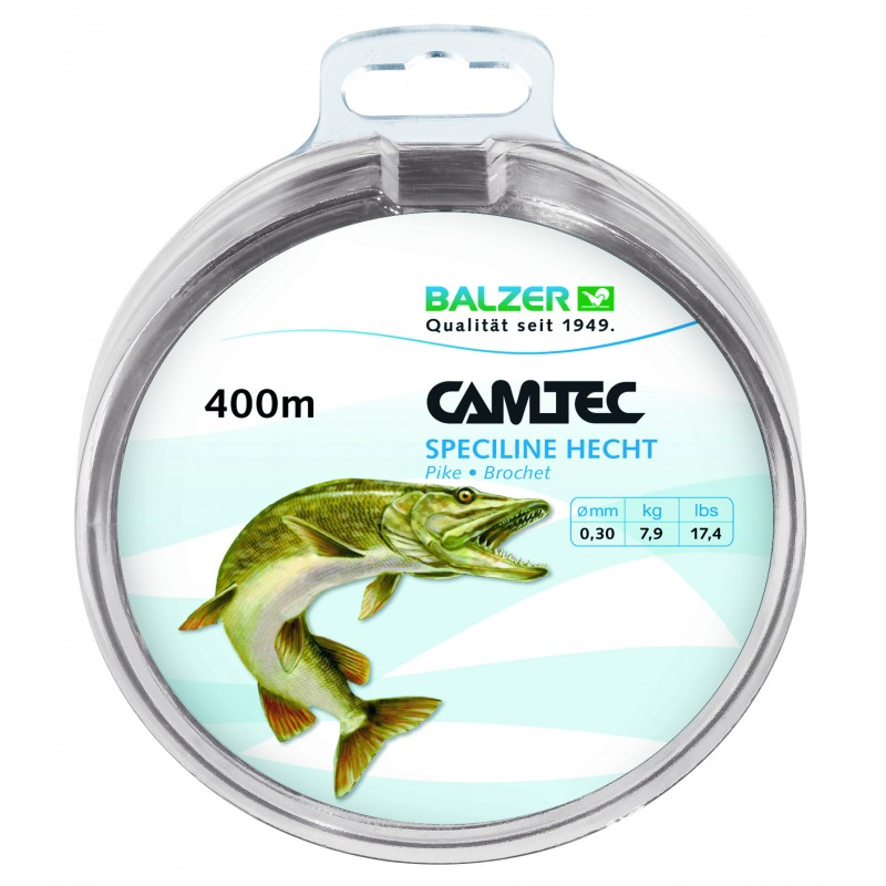 NYLON BALZER CAMTEC SPECILINE PIKE 400M
