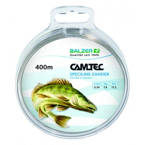 NYLON BALZER CAMTEC SPECILINE PIKE-PERCH 400M